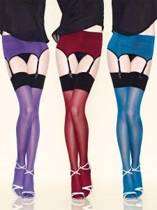 Coloured stockings
