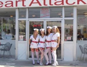 nurses in stockings